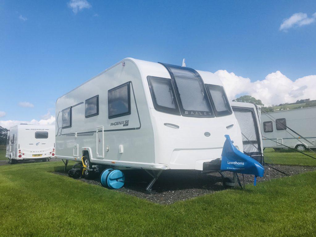 Seasonal Caravan Pitch Teesdale Durham Dales