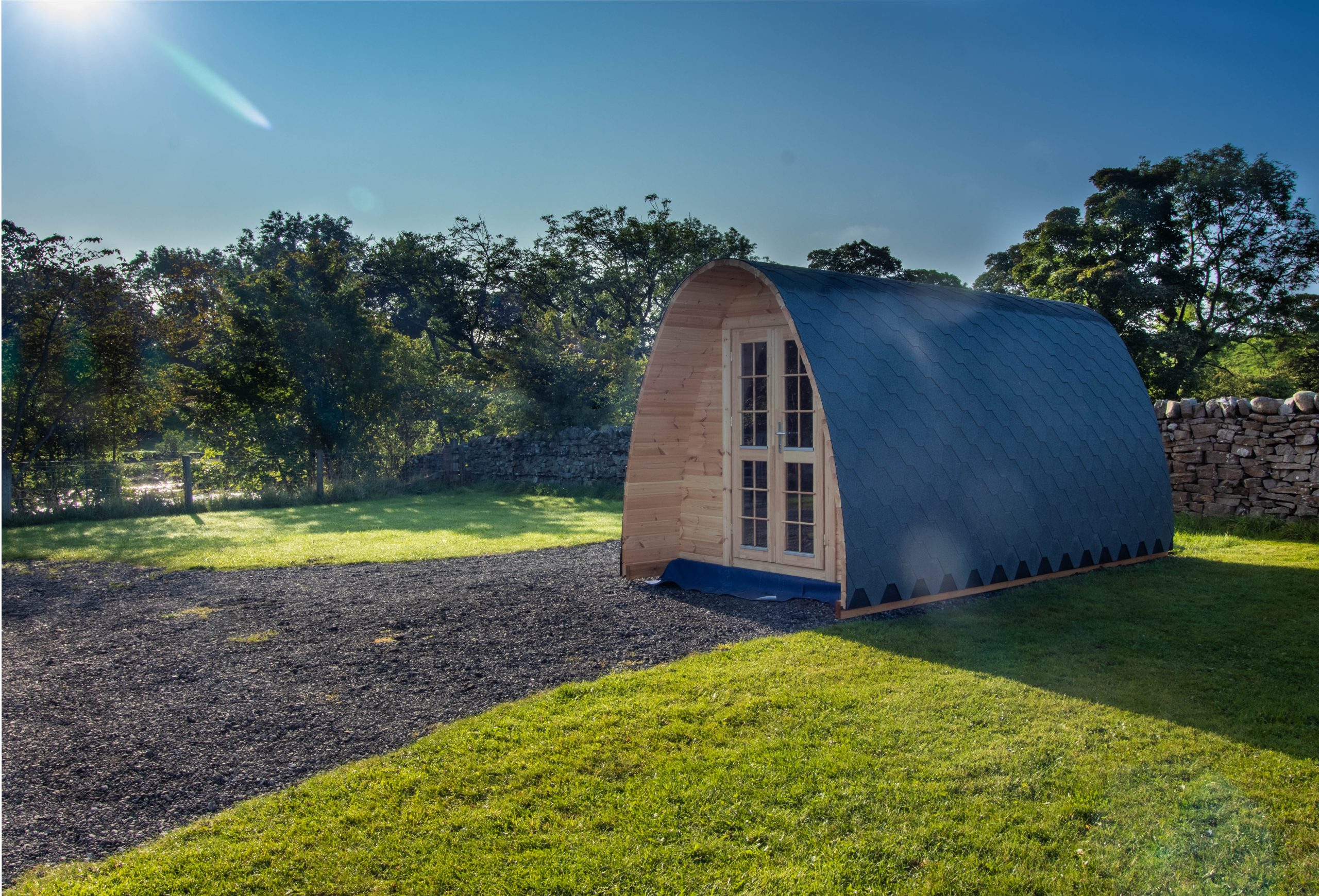 camping pod teesdale